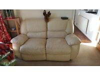 FREE Leather electric recliner sofas