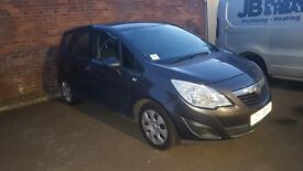 2011 vauxhall meriva excusiv 1.4 new shape