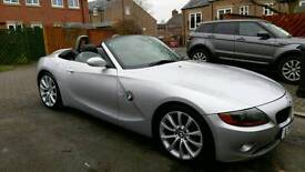 "Silver BMW Z4 2.2l 170bhp, 18"" Alloys, FSH, 2 previous owners, next MOT Jan 2018"
