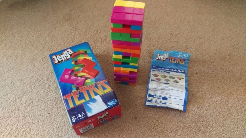 Jenga Tetris Edition By Hasbro Games Complete Board Game In