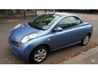 NISSAN MICRA (URBIS) CONVERTIBLE - 06-REG - 2006 (NEW SHAPE) 2 DOOR - 1.4 LITRE - £1195