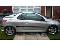 Peugeout 206 convertible offers or swaps