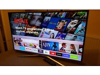 """BRAND NEW BOXED SAMSUNG 40"""" SUPER Smart 4K UHD HDR LED TV- UE40KU6400,built in Wifi,Freeview HD"""