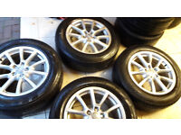 Genuine aaudi vw alloy wheels 18 inch pcd 5x112