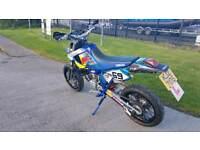 Yamaha DT125X supermoto 2 stroke (not cr yz wr kx sx exc drz)