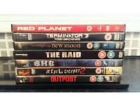 DVD bundle ... Outpost, The Raid, T3 etc