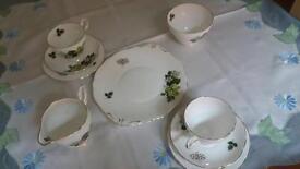 Grosvenor 'Spring Song' Bone China Tea Set