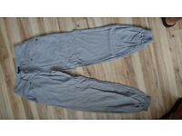 Next grey ladies trousers size 10r