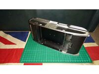 Vintage Polaroid Land Camera CB403857 with Series Forty Roll Film Adapter