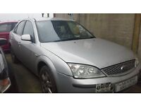 **FOR BREAKING** 2006 FORD MONDEO (SILVER).