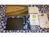 "Acer Aspire ES1-111M 11.6"" (32GB, Intel Celeron Dual-Core, 2.16GHz, 2GB)."