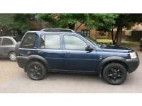 LAND ROVER FREELANDER Station Wagon 5dr (blue) 2001 (lost car key)