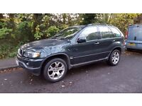 BMW X5 2002 Spare or repair.Engine blockade