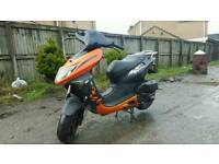 Keeway arn 125 scooter moped full mot like piaggio gilera aprilia drive away