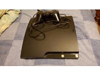 Sony PS3 One controller, 120 Gb works great no issues just does not use anymore