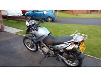2002 BMW F650 (single) 21k Great Condition with Panniers & Tank Bag
