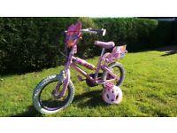 "Disney Princess Bike - 14"" with Helmet"