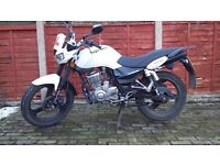 MOTORBIKE FOR SALE, Zontes 125cc- £1000 ONO
