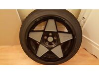 "3SDM 0.05 18"" 9.5j 5x112 et40 alloy wheels.235/45R18 98W load rated tyres - vw t4/golf/audi mercedes"