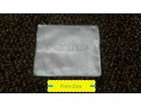 Zara Silver Metallic Clutch bag