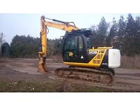 2012 JCB JS 145 IC EXCAVATOR ONLY DONE 4858Hrs £28,000 + VAT