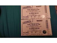 2xFeeder tickets 17th March
