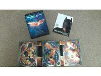 The Dark Knight Trilogy box set dvds
