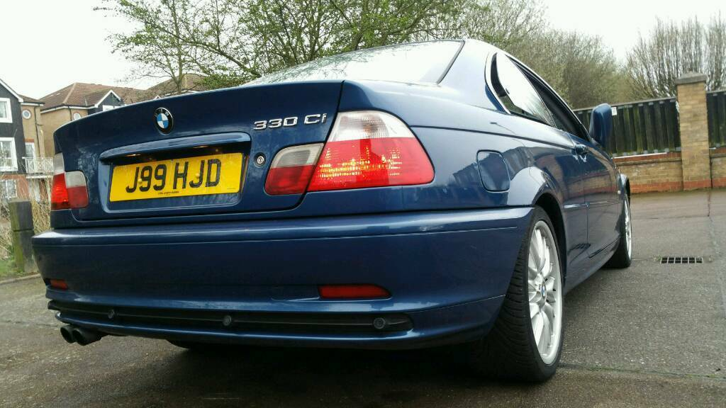 2001 BMW 330CI MANUAL COUPE E46 PARKING SENSORS PX