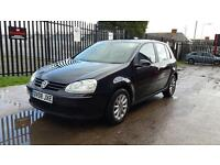 2008 Volkswagen Golf 1.9 TDI 5 door hatchback 12 months mot genuine low mileage