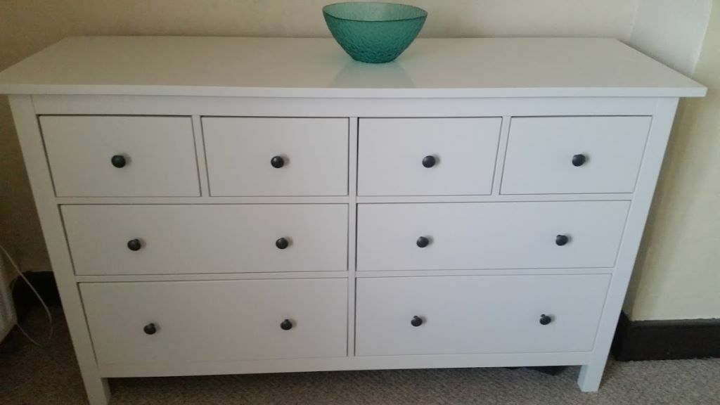 Ikea Mandal Drawers Gumtree ~ Ikea Hemnes white chest of drawers  in Moulton, Northamptonshire
