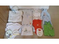 A bundle of baby clothes 0~3 months