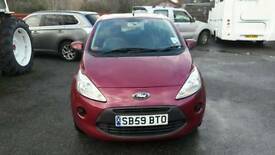 2009 Ruby Red Ford Ka 1.2 only 53K,