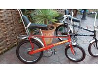 RALEIGH CHOPPER mk2 1972 infra red one of the 1st !!