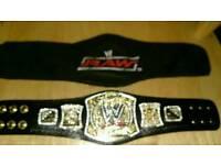 WWE wrestling mini spinner championship
