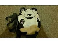 Trespass panda toddler reins backpack