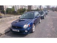 5 Door 2.0 L Impreza WRX 4 wheel drive. MOT, new exhaust tail section. £2,250