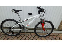 Saracen Xray mountain bike with front suspensions £50
