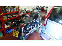 Honda 750S black & chrome-stunning low miles cruiser