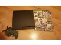 Cheap Playstation 3 with 5 games