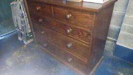 Antique storage drawers