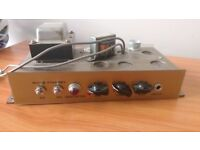 Torres (now Vyse Amps) valve spring reverb unit - needs repairs so sold as a project