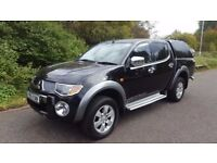 Mitsubishi L200 2.5 DI-D Warrior Double Cab Pickup 4WD A VERY CLEAN TRUCK WITH NO VAT