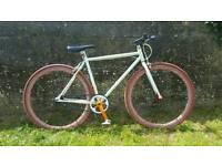Mens Bike Fixie-Single Speed Medium Frame