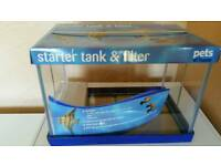 Fish Tank and Filter (Brand New)