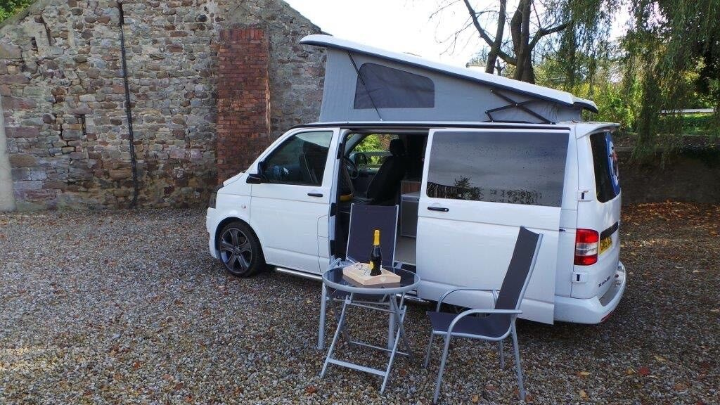 For Sale Vw T5 Campervan With Vango Air Beam Awning