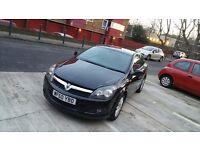 Vauxhall astra 3 door automatic 2011 black 1.8