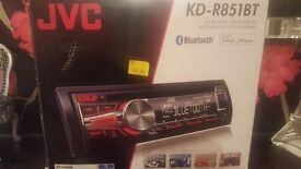 JVC KD-R851BTE Car Radio Bluetooth Stereo system with warranty
