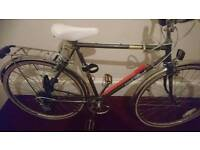Freespirit york,mens road bike,21 inch frame,26 inch wheels 10 gears,
