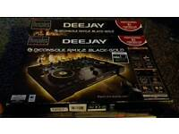 Brand new dj console rmx2 black/gold