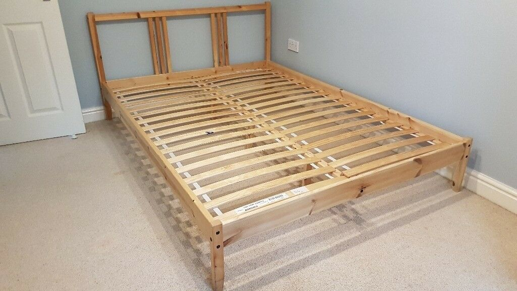 Ikea Fjellse Pine Double Bed Frame In Stockport Manchester Gumtree